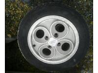 Ford Escort mk3 xr3 cloverleaf alloys