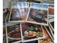 full set(20) Cordon Bleu hardback cookery books