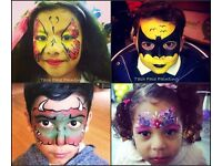 FACE PAINTER- Face painting, birthday, hen party, henna, batmitzvah , Makeup, Christmas party, baby