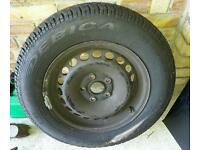 195x65x15 spare tyre