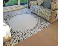 IKEA Rug/Carpet, high pile, SANDERUM, white, sale only for £69