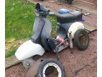 Vespa mark 1 frame - ideal project rat rod or restoration