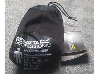 Regatta Professional MW348 Black Waterproof Trouser