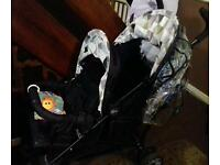 My child double pushchair
