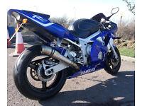 Yamaha R6 5EB 2001 low mileage