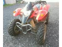 250cc Quad. Road Legal Ready. Immaculate!!! With Trailer!!!