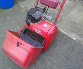 Suffolk cylinder mower petrol 14s