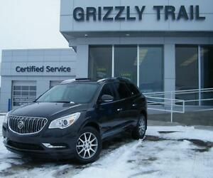2017 Buick Enclave Leather LOW KMS/HEATED STEERING WHEEL