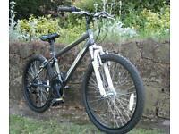 """Lovely Unisex Mountain Bike for Boys and Girls 24"""" Wheels"""