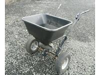 Fertiliser spreader grass salt etc good for garden farm stables etc