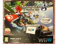 Wii U, Mariokart 8, Premium Pack 32GB Black