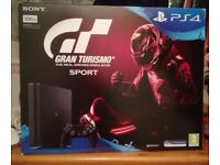 Brand new in box PS4 with gran turismo never used