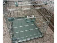Rose wood dog cage