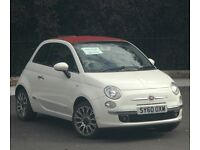 Nice , clean FIAT 500C Lounge convertible. Well maintained, MOT'd and fully serviced.