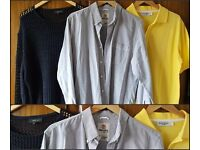 3 Men's designer tops..Timberland ,River Island ,Yves Saint Laurent. ..size large..£10 middleton