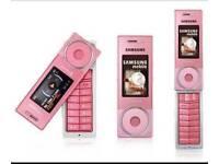 Samsung pink lipstick phone unlocked