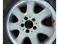 Mobile alloy wheel refurbishment