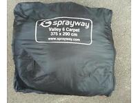 Sprayway wally 6 carpet in very good condition! Can deliver or post! Thank you