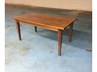 solid wood dining table from next (item 14)
