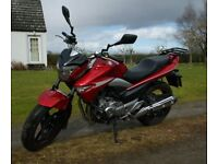 SUZUKI INAZUMA 250 in deep metallic red - IDEAL COMMUTING MOTORCYCLE