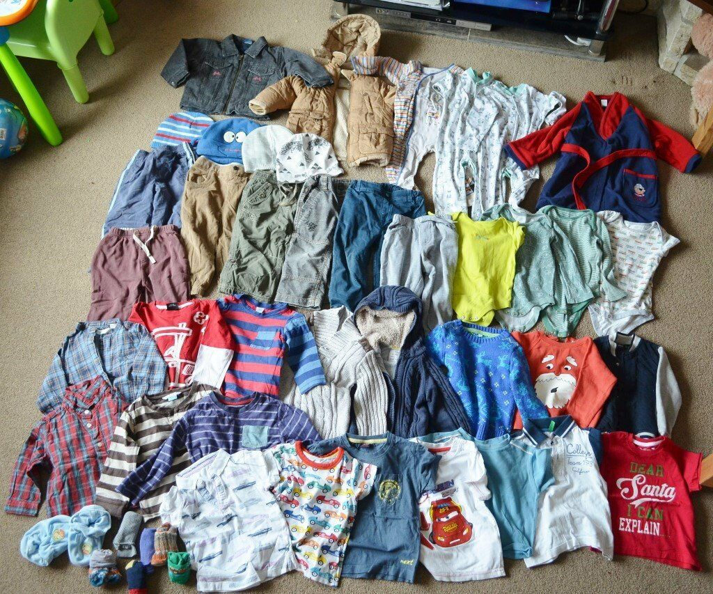 7a13e87ab0b4 huge baby boy clothes bundle 18-24 month authum winter