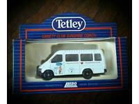 Tetley collectable vans