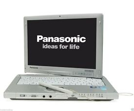 Panasonic Toughbook CF-C1 Intel Core i5 Military Grade Laptop 4G TOUCH 250 GB3