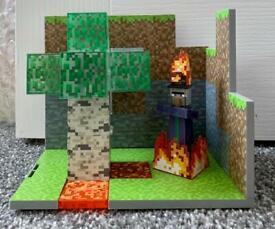 Kids / Childrens Minecraft Biome Playset