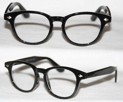 Nerd Brille neuer runder Style Geek Glasses Klarglas Sonnenbrille Farbwahl 333