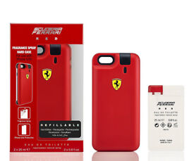Brand new and sealed Authentic Scuderia Ferrari Red iPhone Cover / mens fragrance