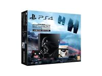 Sony PlayStation 4 PS4 1TB Star Wars Limited Edition with Battlefront Deluxe Edition & more