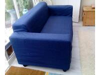Small IKEA sofa with removable cover £25