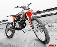 GIO X37 DIRT BIKE 4 STROKE PRO-SERIES ON SALE NOW!!!