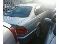 BMW 325i 2001 silver breaking