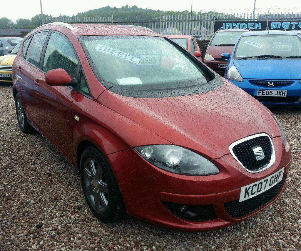 2007 seat altea xl stylance tdi 105 1 9 diesel manual 85000 miles fsh 12 month mot 3995. Black Bedroom Furniture Sets. Home Design Ideas