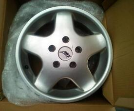 Set of 4 Peugeot boxer alloy wheels