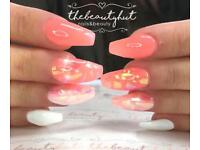 Full Set Of Acrylic Nails Only £15 On Your First Visit Based In Middleton Leeds