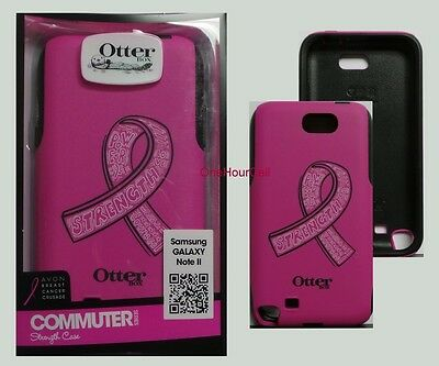 OtterBox Commuter Case for Samsung Galaxy Note 2, Note II, Pink 77-25035