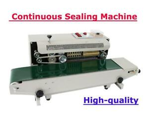 110V Horizontal Continuous Sealing Machine Plastic Membrane Film (Item#070740 )