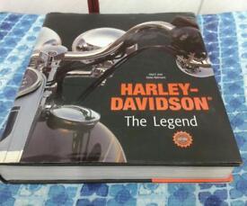 HARLEY DAVIDSON THE LEGEND BOOK £15