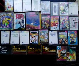 Computer games-Commodore c16/BBC micro.