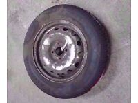 VAUXHALL COMBO WHEEL WITH NEW TYRE 175/70/R14