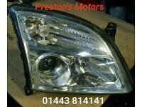 Vauxhall vectra C Pre Facelift Model 2004 O/S Headlight