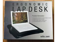 Laptop padded desk for applemac macbook tablets notebook