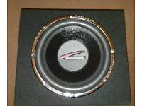 """Audiobahn 12"""" Car subwoofer and amplifier"""
