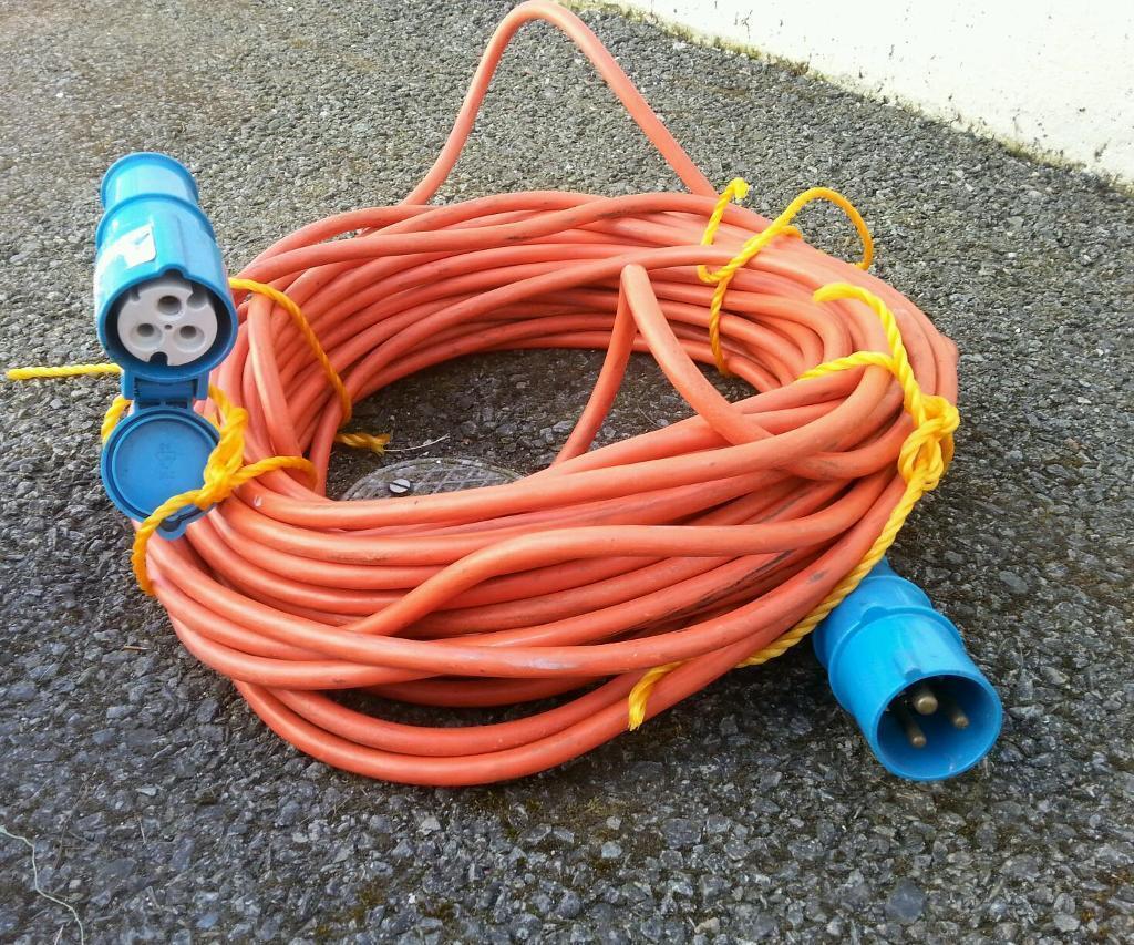 Caravan Electric Hookup Cable 25m 163 18 In Eglinton County Londonderry Gumtree