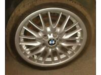 "Bmw mv1 18""alloys stagerd fitment"