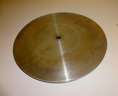12 Aluminum Flat Face Sandingpolishinggrinding Disc Plate 58 Shaft Bore
