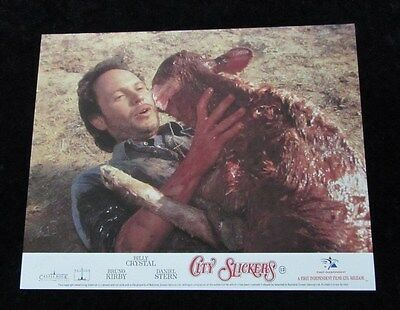 CITY SLICKERS lobby card #2  BILLY CRYSTAL