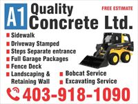CONCRETE &  Land Scaping